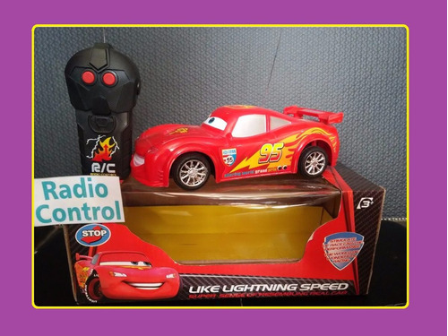 auto radio control cars rayo mc queen mar del plata