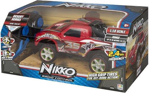 auto radio control desert series duner racer 1/18- nikko rc