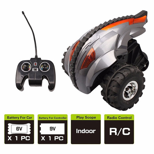 auto radio control monster 360 giro trucos original tv