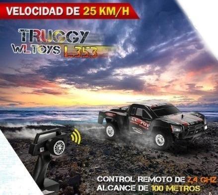 auto radio control remoto electrico recargable truggy l353