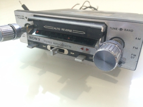 auto rádio e toca fitas sony t 34