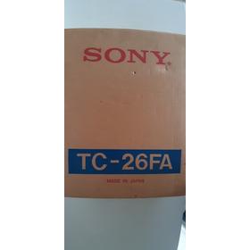 Auto Radio E Toca Fitas Sony Tc-26fa Novo Na Caixa Sem Uso