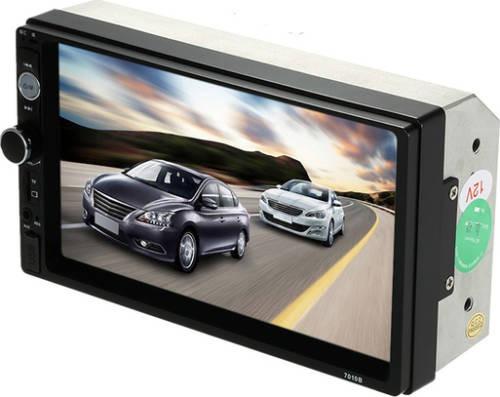 auto radio universal pantalla tactil 7 pulgadas bluetooth