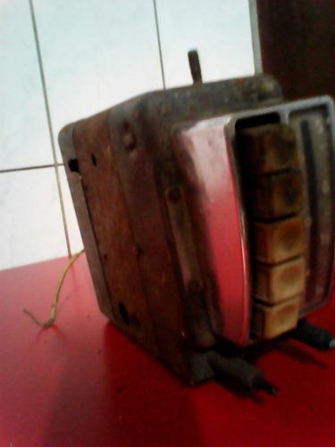 auto radio valvulado antigo