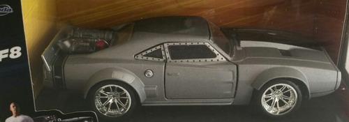 auto rapido furioso 8 dom's ice charger retro metal rdf1