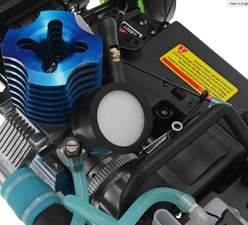 auto rc nitro nuevo gasolina