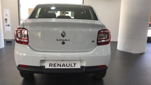 auto renault logan life 1.6 entrega inmediata 7 dias habil w
