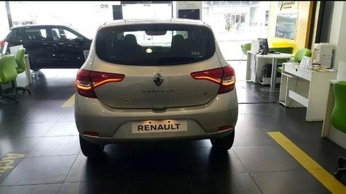 auto renault sandero life 1.6 2021 oferta entrega inmediatos