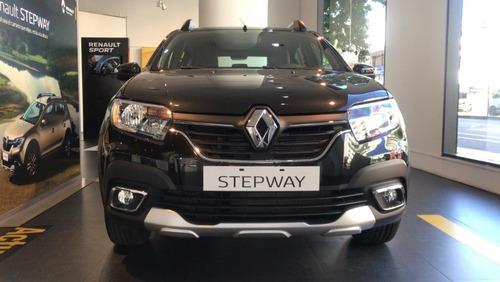 auto renault sandero stepway 1.6 entrega inmediata oferta  w