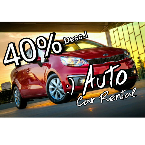 auto rent a car, mega oferta! santo domingo