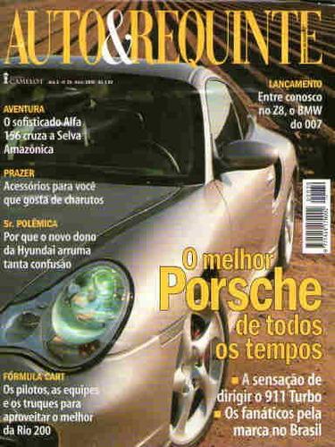 auto & requinte 39 * abr/00 * porsche * z8 * alfa 156