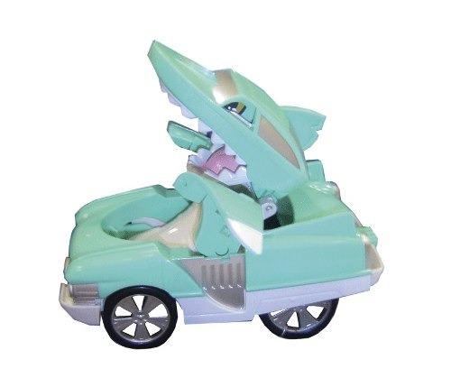 auto shark transformer animal juguetes 10 cm