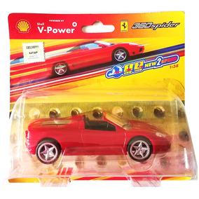 360 Shell Ferrari Hot She555 Mundo Spider Auto Wheels 1 38 XOkPuZi