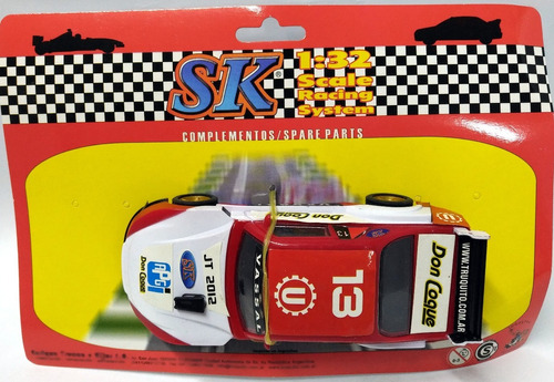 auto slot tc chevy compatible scalextric  marca  sk 1/32 4x4