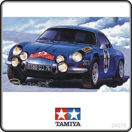 auto tamiya renault alpine a110 rally 1 24 no revell 1 en mercado libre. Black Bedroom Furniture Sets. Home Design Ideas