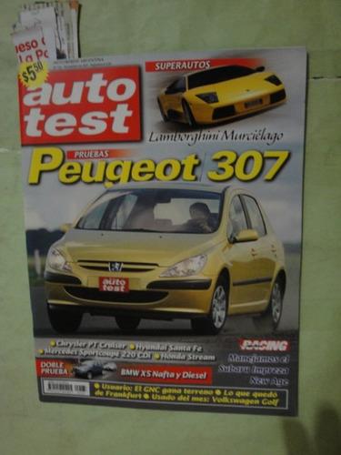 auto test 133 peugeot 307 stream impreza bmw x5 mercedes 220