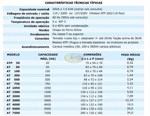 auto transformador 2000va bivolt 110 220 / 220 110 upsai