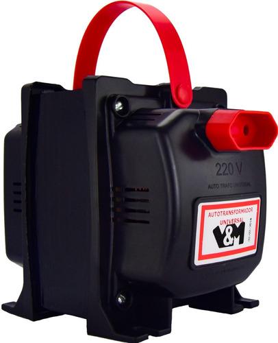 auto transformador 2000va v&m bivolt 110 220/220 110 com n f