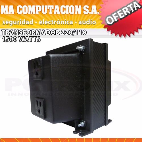 auto transformador 220/110v 1500w ideal para importados usa