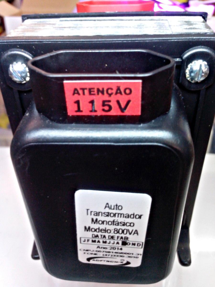 Auto transformador 800va 110 para 220 ou 220 para 110v - Transformador 220 a 110 ...