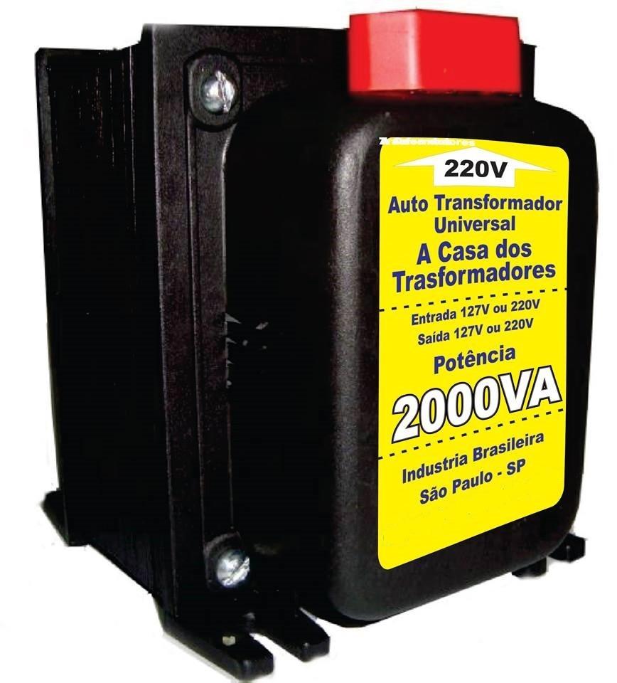 Auto transformador conversor de voltagem 2000va 110v 220v - Transformador 220 a 110 ...
