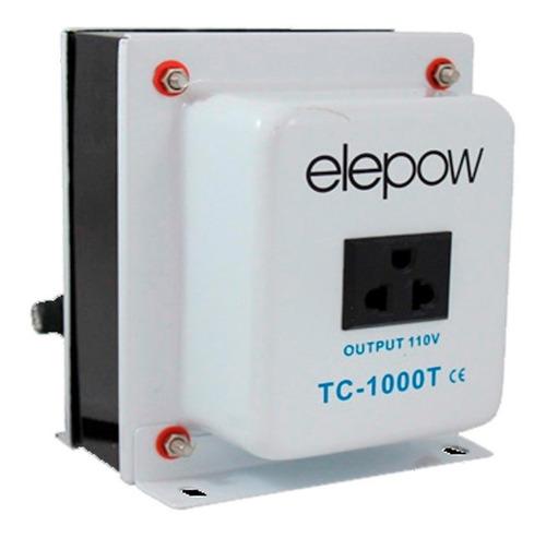 auto-transformador corriente de 220v a 110v de 1000 watts