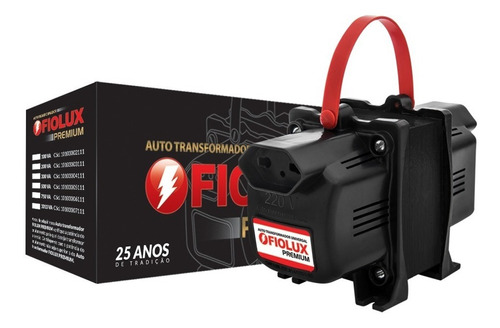auto transformador fiolux premium 2000va 3 pinos - tripolar