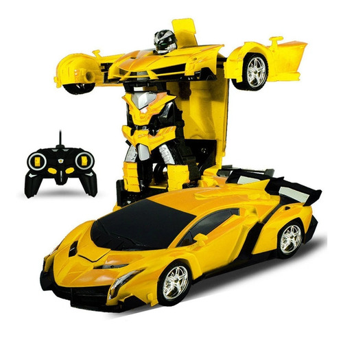 auto transformer a control remoto robot