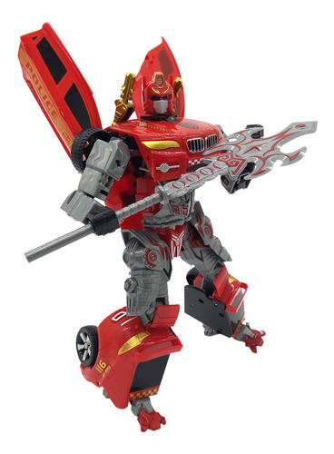 auto transformers robot juguete muñeco deformation tycon