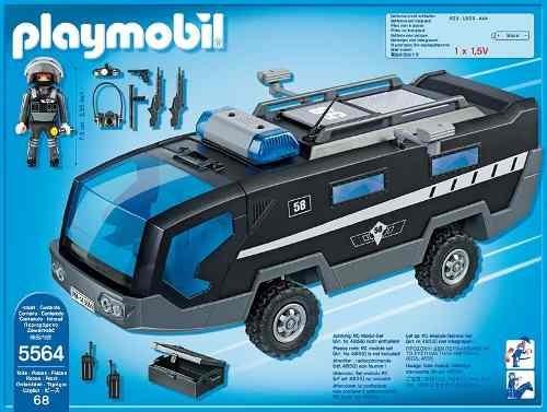 auto unidad especial de policia playmobil r3213