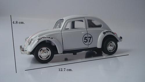 auto volkswagen vw vocho escarabajo beetle escala 1:32