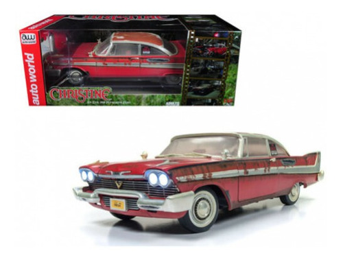 auto world 1958 plymouth fury christine dirt 1/18