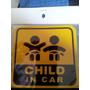 Sticker Auto Adhesivo Child En The Card