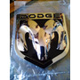 Logo Emblema Insignia Dodge 9.0x7.8 Cms Con Adhesivo