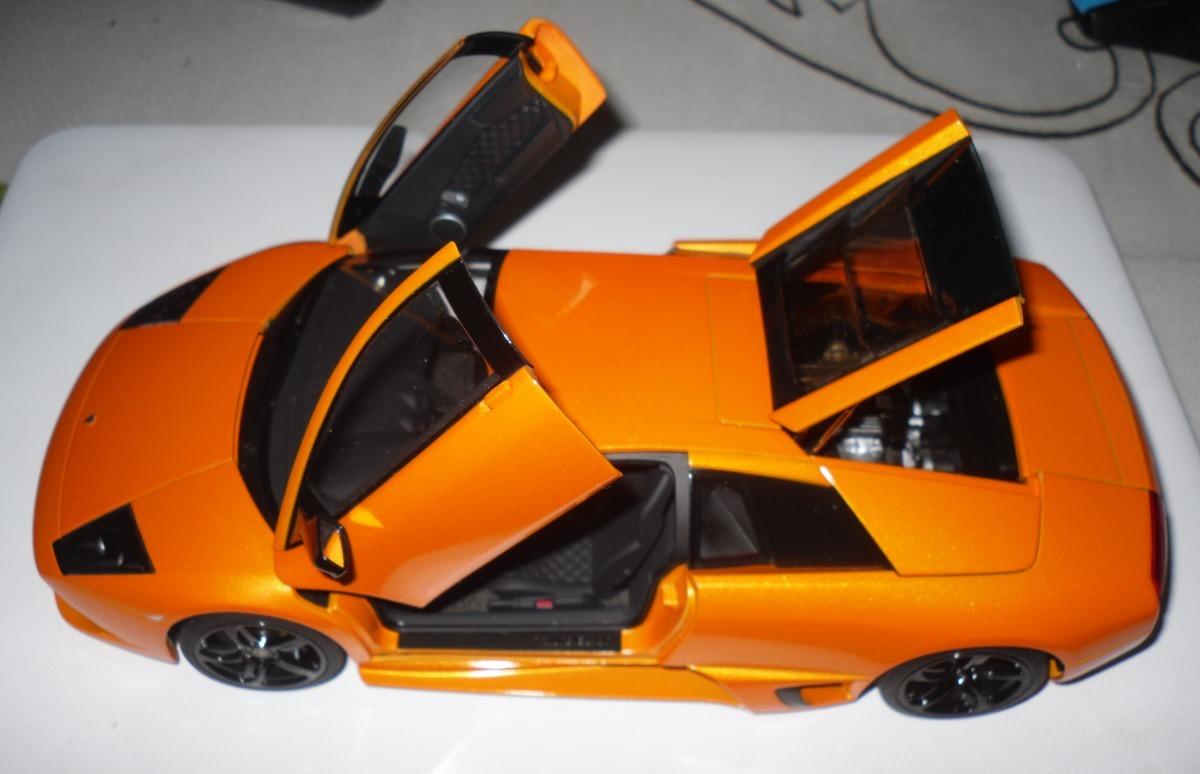 Autoart Lamborghini Murcielago Lp640 Naranja 1 18 2 750 00 En