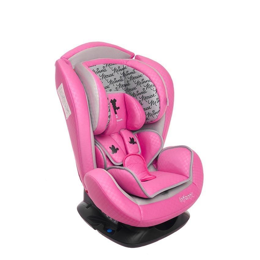 Autoasiento portabebe silla auto infanti minnie infanti for Silla de auto infanti