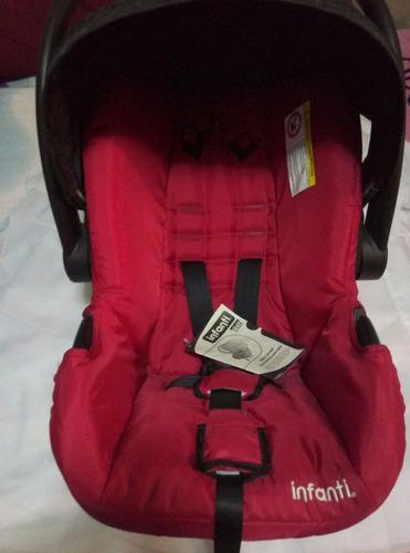 autoasiento para bebe con techo infanti