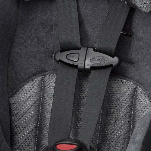 autoasiento portabebe evenflo tribute lx - gris/negro