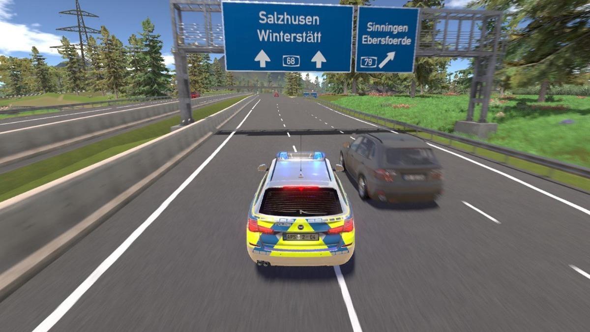 Autobahn Police Simulator 2 Pc Completo Simulador Policial
