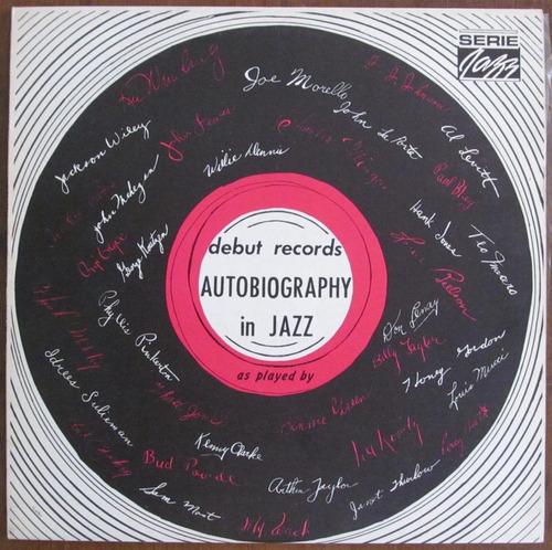 autobiography in jazz - varios artistas - vinilo nacional