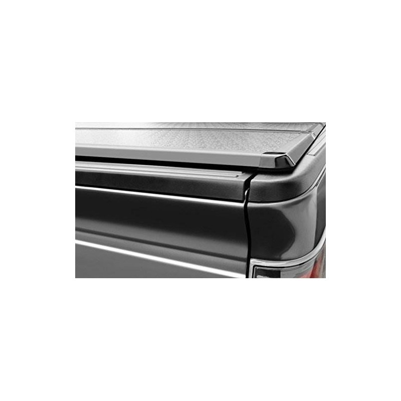Autobotusa Tri-fold Vinilo Tonneau Cubierta Lw 16x Led Luces ...