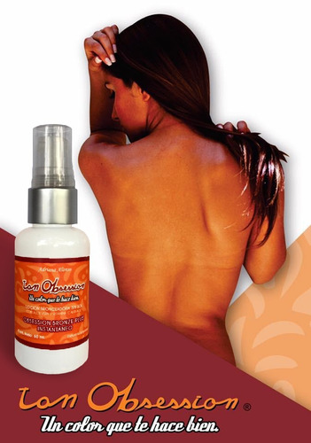 autobronceante  spray obsession bronze anti age  x 1 unid