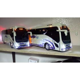 Autobús A Escala Linea Costaline Con Luz De Led 1:32