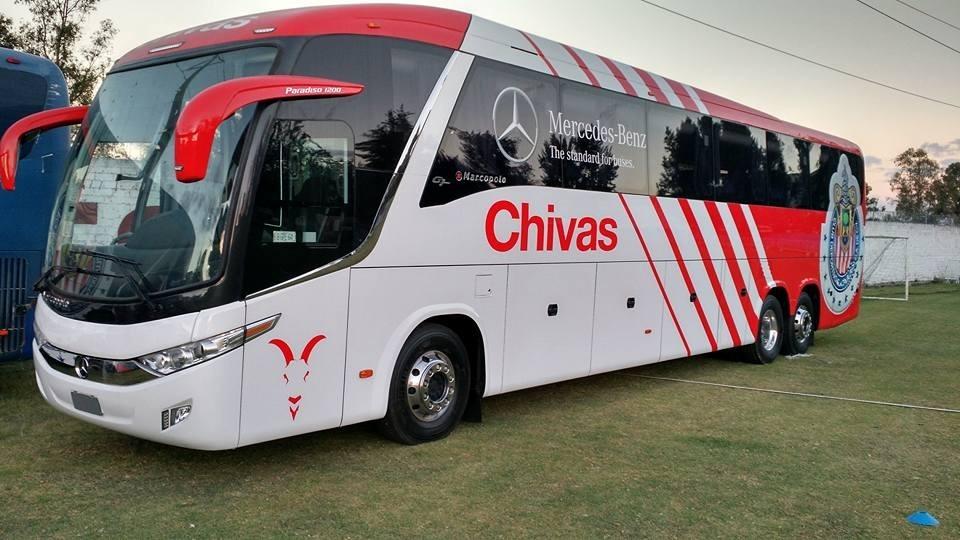 Autobus A Escala Marcopolo G7 1300 Cromática De Las Chivas ...