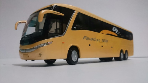 autobus a escala marcopolo paradiso 1200 g7 1:42, metal