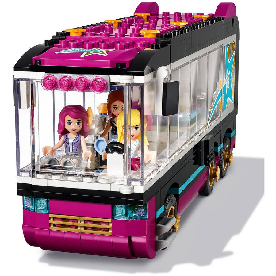 Autobús De Gira Pop Star Lego Friends 41106 658855 En Mercado