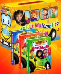 autobús matemático de ana maría 3 tomos / zamora