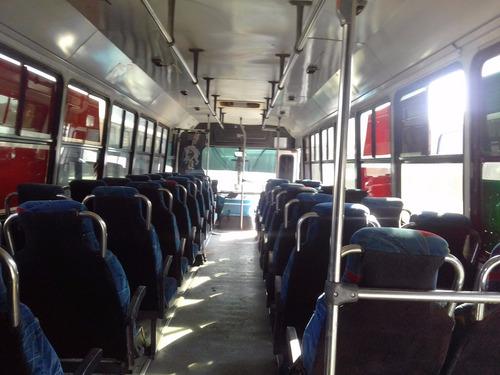 autobus urbano de pasajeros 41 asientos altos de tela diesel