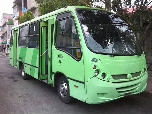 autobus urbano vochobus 2005 diesel 31 asientos plastico