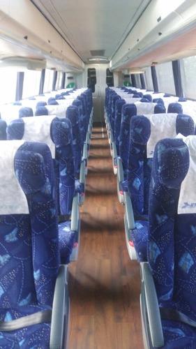 autobus volvo año 2005 tres ejes 44 lugares 2 bañoscafeteria